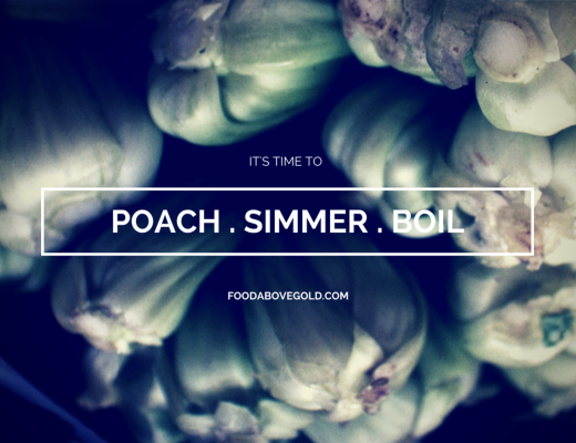 Poaching, Simmering, and Boiling Title