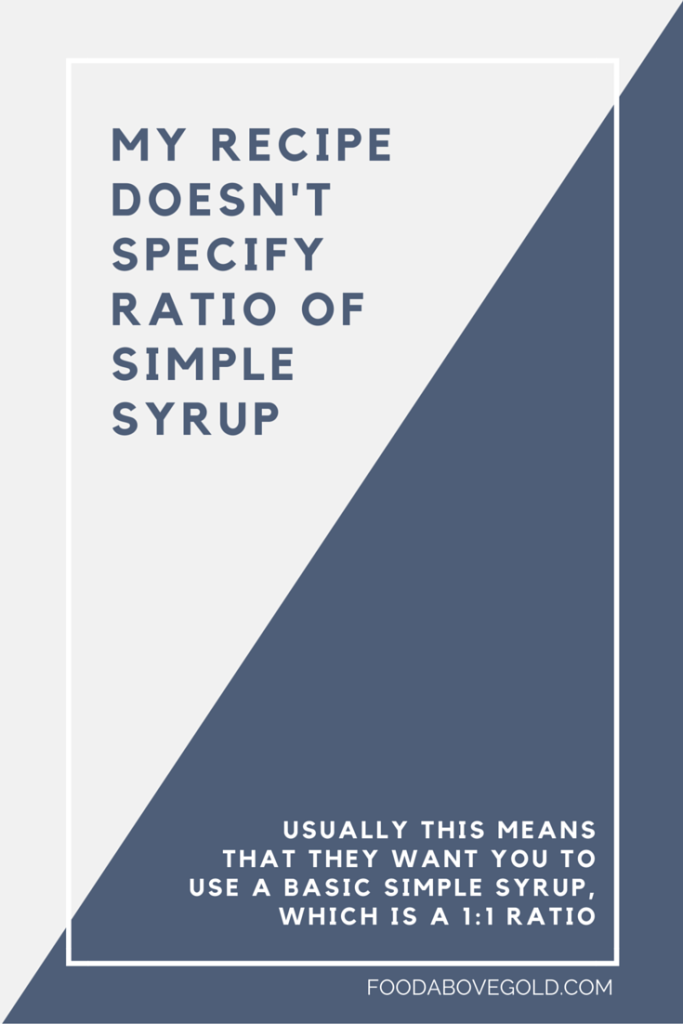 Simple syrup explained! Learn all about how to make flavored and infused simple syrups and what to do when it crystalizes.