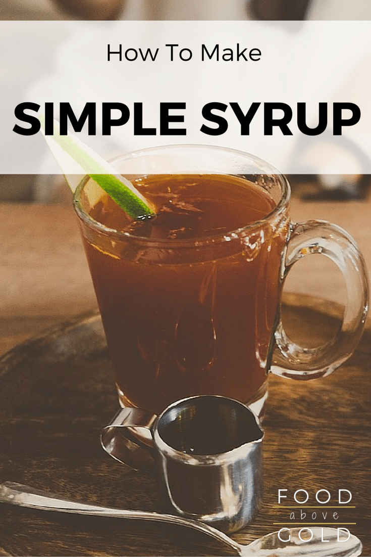 Learn about the different kinds of simple syrups and how to make flavored simple syrup.  Plus a basic troubleshooting guide.