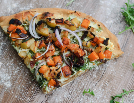 Try this pumpkin pizza recipe for a new autumnal twist on pizza night. A perfect balance of sweet and salty - this pizza will have you coming back for more.