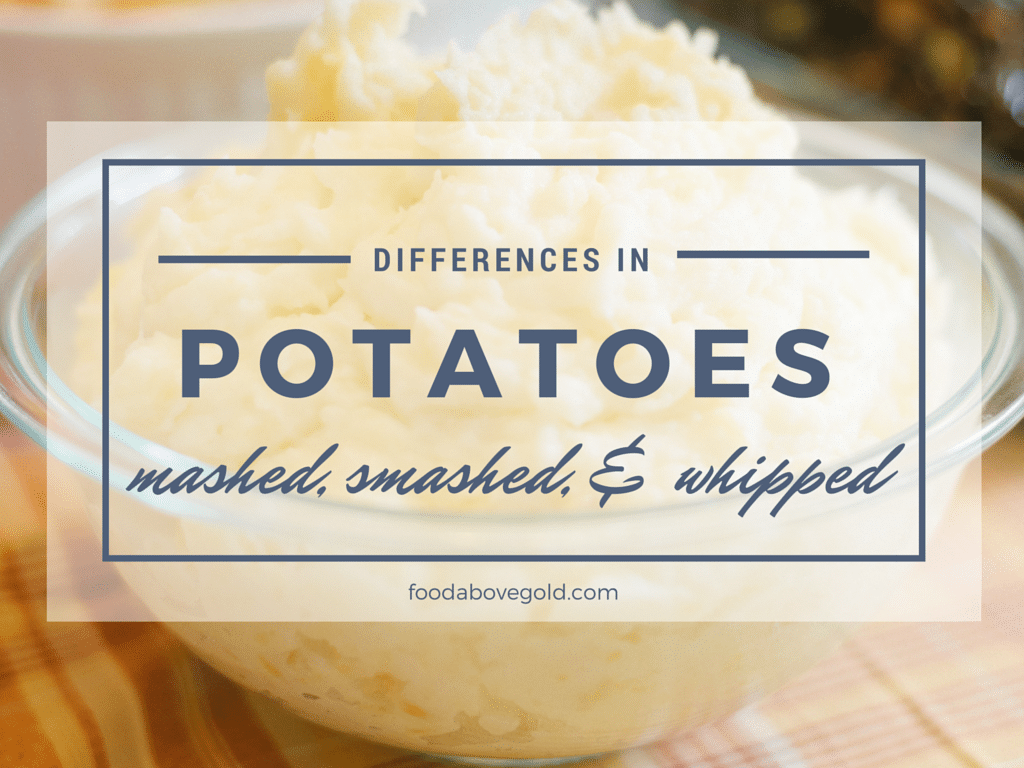 Do you love mashed potatoes? Learn the difference between mashed, smashed, and whipped potatoes, as well as tips on how to make each kind extra super tasty!
