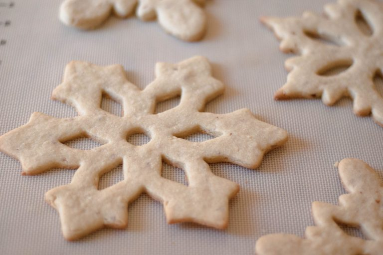 This recipe for chewy almond sugar cookies makes a cookie so soft and delicious you'll eat them all! Plus my secret tip for flawless cut-out cookies!