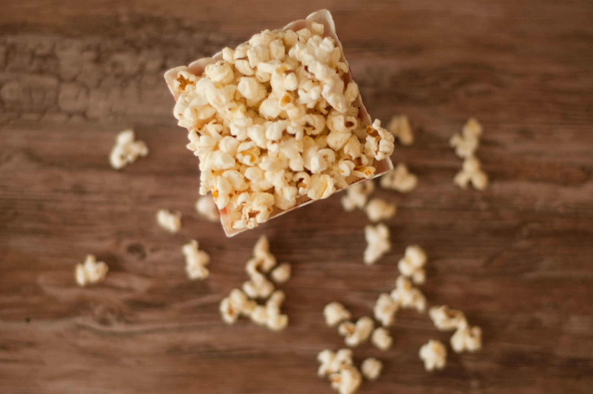 Try this easy recipe for homemade buttered popcorn and you'll never want to buy the microwave bags again! It's movie theatre flavor with REAL ingredients!
