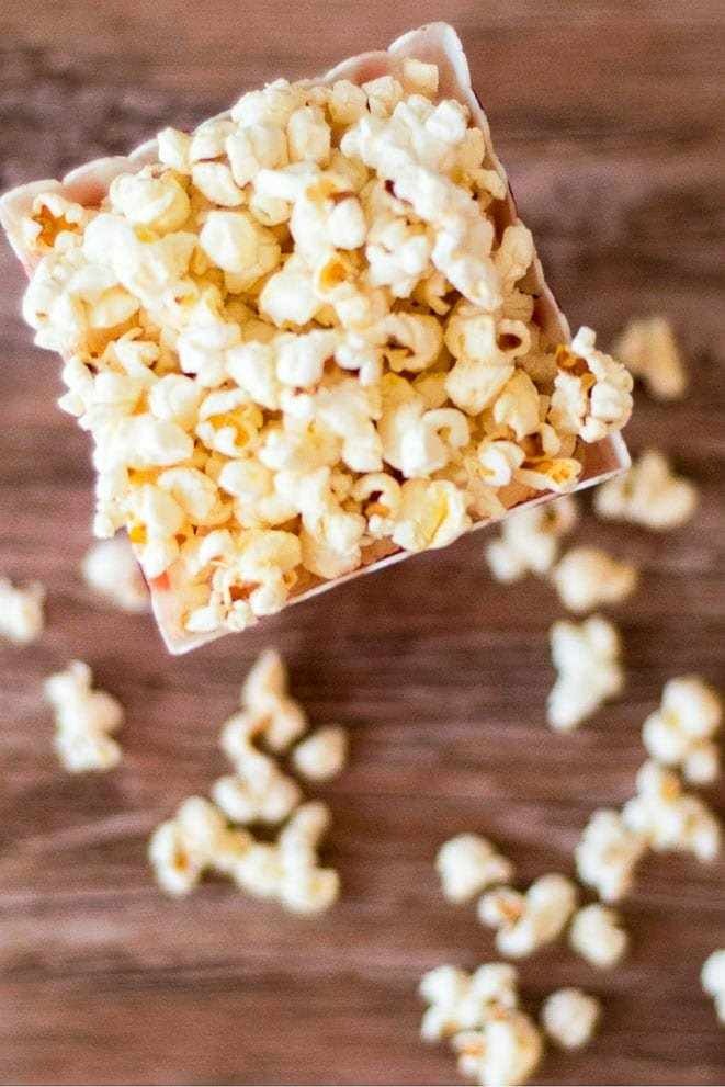 Buttery Stovetop Popcorn That Isnt Soggy Food Above Gold