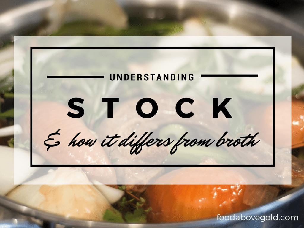Chicken Stock Versus Broth: Homemade Stock Series Part One