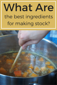 Are you a stock purist or a complete utilizer? Find out if you are using the best stock ingredients and learn what can & can not go into stock.