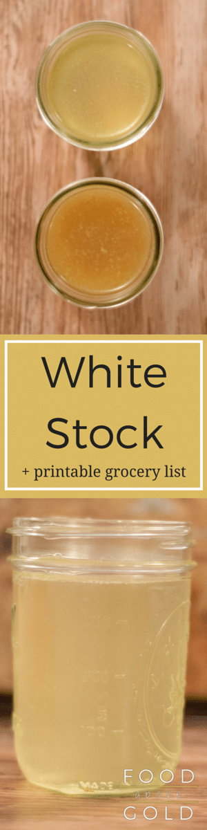 How To Make A White Stock
