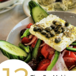 """An image of a salad with text overlay saying """"12 tips for a killer salad."""""""