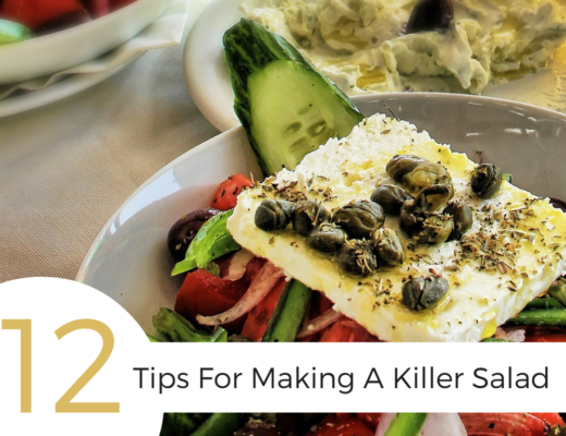 Get these 12 tips for making salad, ranging from what ingredients to use, to how to balance your salad, to the best ways get even distribution of dressing.