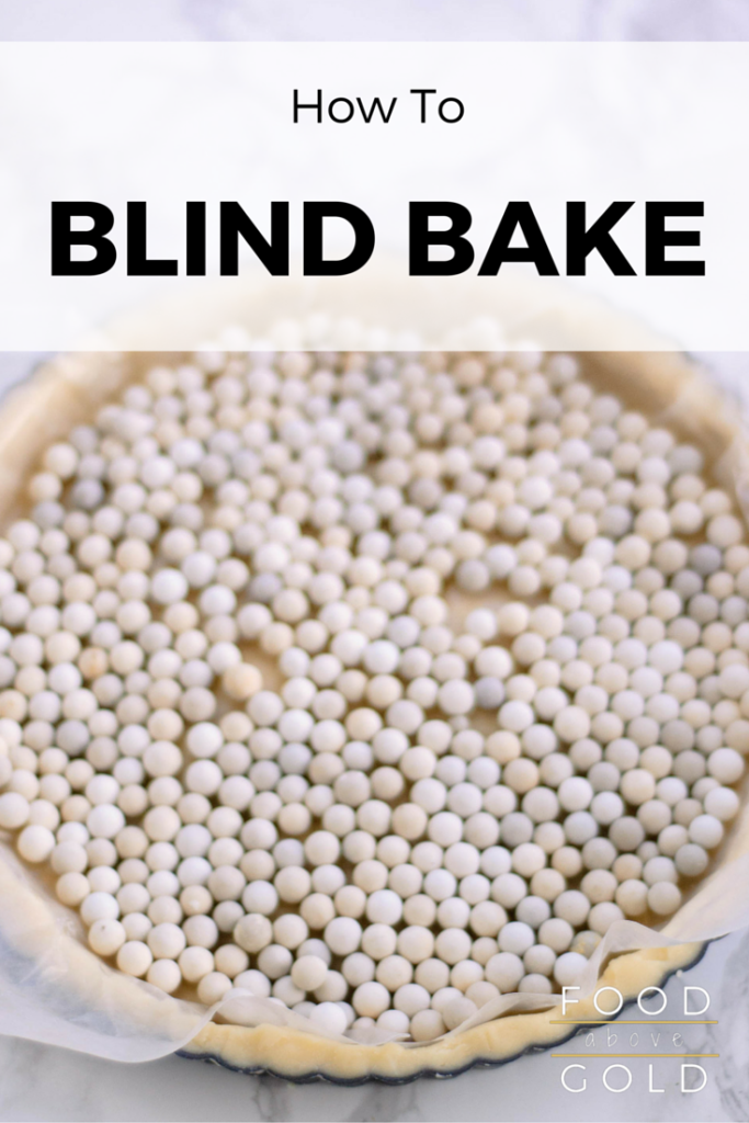 Want a perfect crust for your pies and tarts? Learn how to blind bake, the method behind making a naked, cooked crust. Plus, my 6 tips for doing it better!