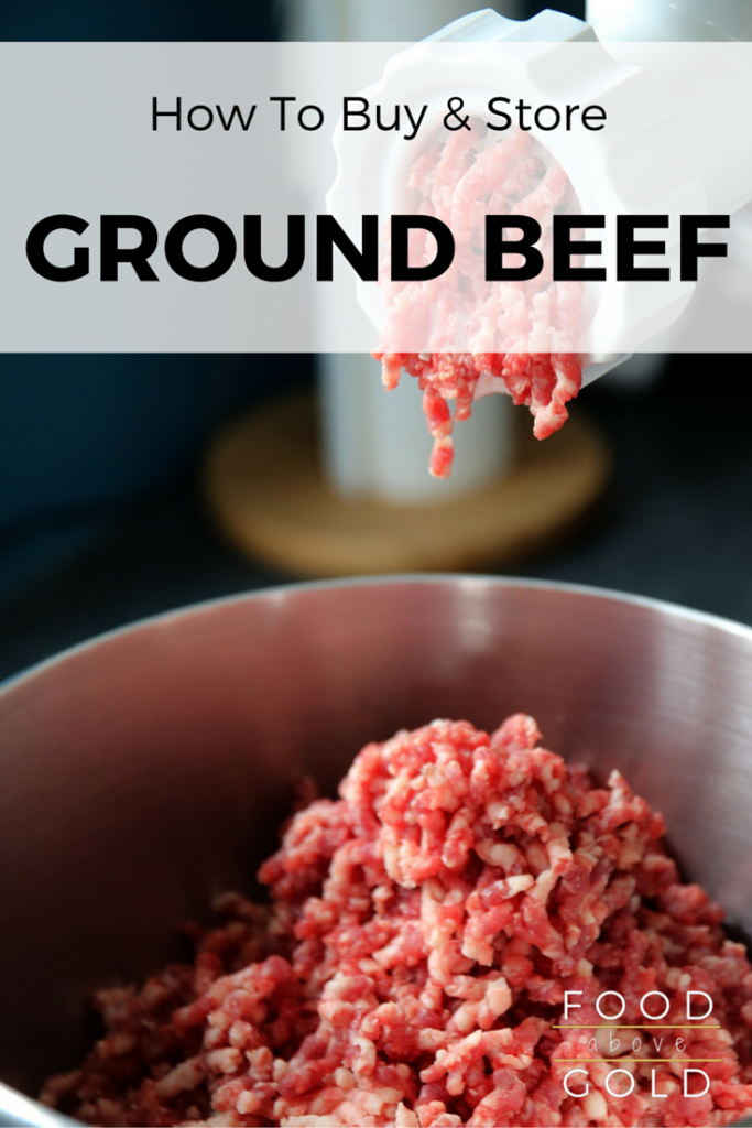 Learn how to buy and store ground beef, the different names of ground beef, & find out which lean-to-fat ratios are the best for what you're making.