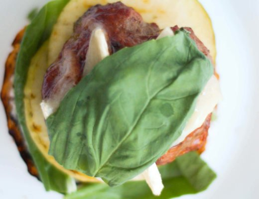 These addicting Brie, Basil and Hickory Burgers will have you drooling at the sight of them. With sweet and strong flavors, these burgers are epic!