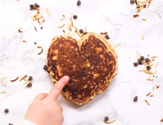Start your morning off on a great note with these perfectly sweet Chocolate Chip & Toasted Coconut Pancakes. Great for the coconut lover in your house!