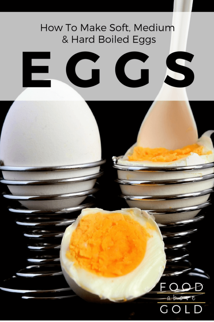 Learn how to make soft, medium, and hard boiled eggs. Get yolks so runny, creamy or dreamy that you'll be craving boiled eggs every day!