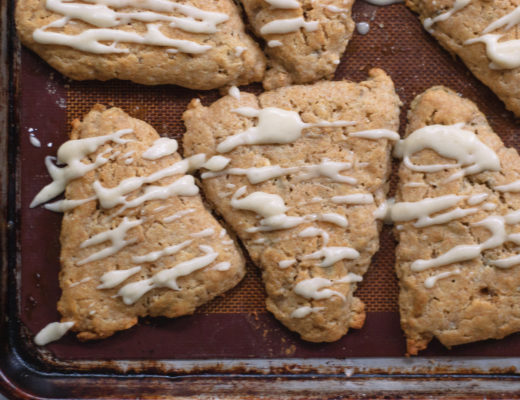 These Brown Butter & Pumpkin Seed Scones are a perfect treat to welcome in Autumn. With just a hint of nutmeg, they are perfect for breakfast or dessert!