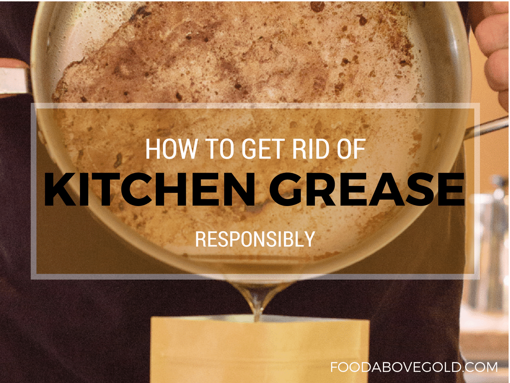 how to get rid of kitchen grease one year supply giveaway
