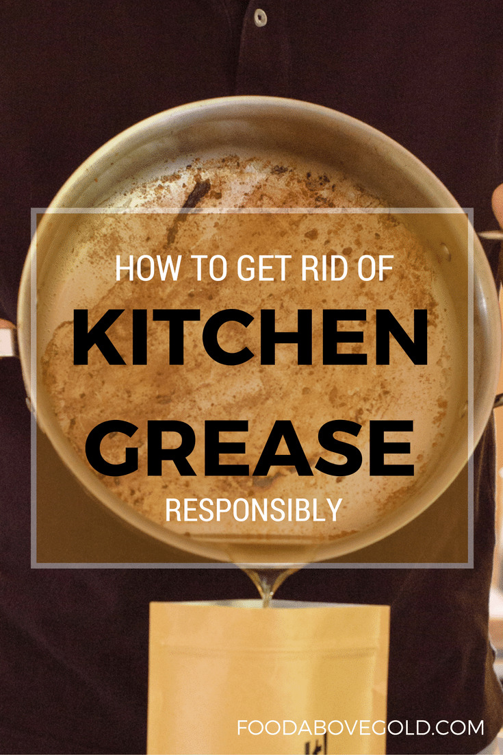 No more wondering if you should throw your kitchen grease down the sink, in an old can, or straight into the trash. Find out the best way to get rid of kitchen grease and how it will save you money!