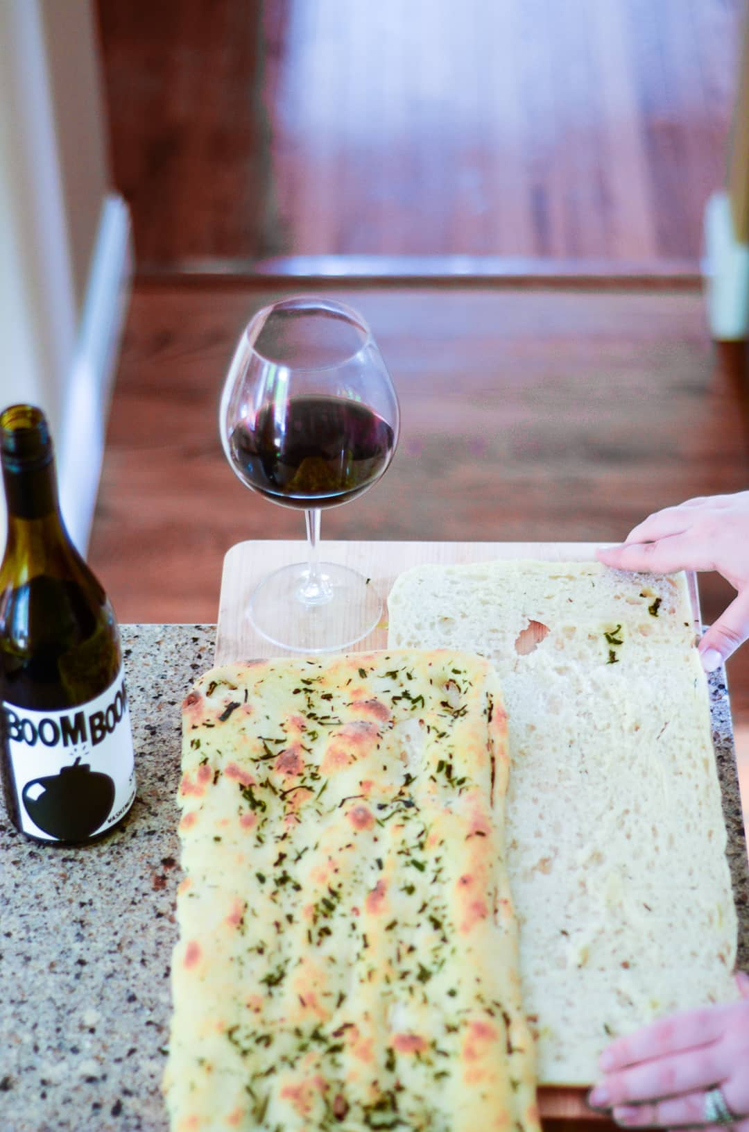 Take your everyday meal from bland to brilliant with Charles Smith Wines and this delicious Gourmet Slab Grilled Cheese - a perfect pairing!!!