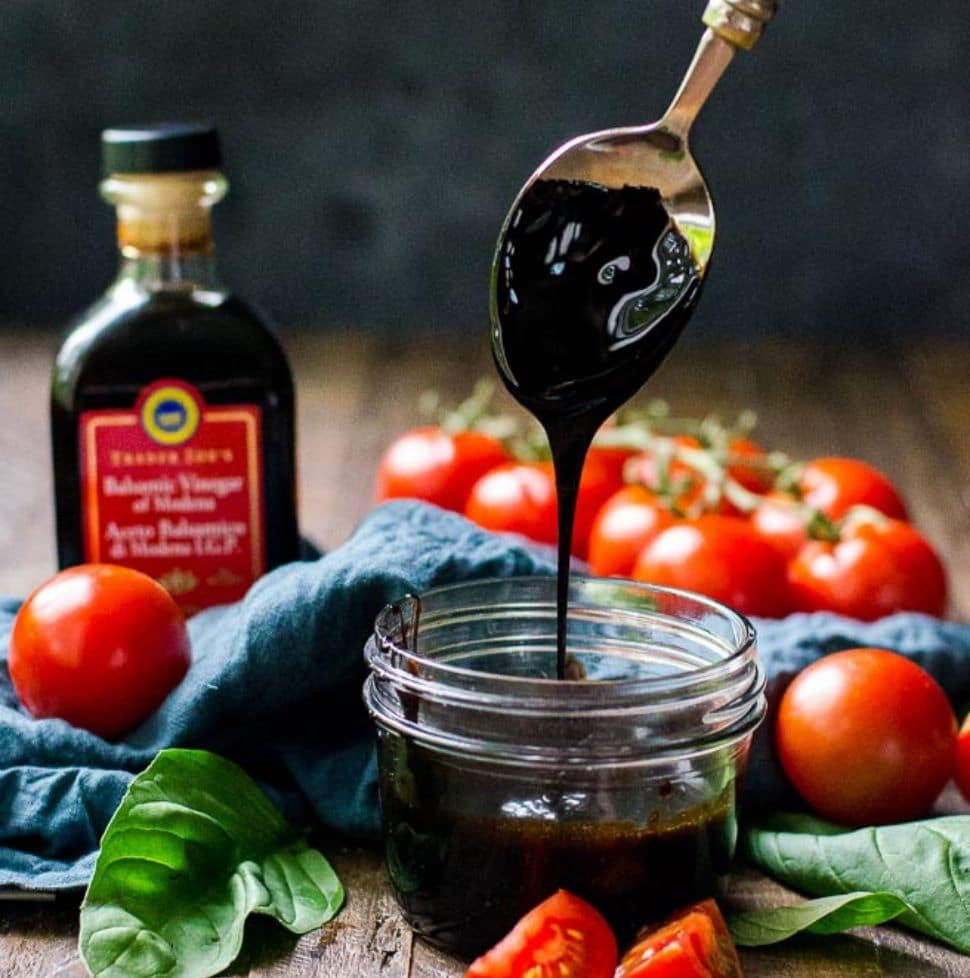 How To Make Balsamic Reduction At Home Balsamic Glaze Recipe