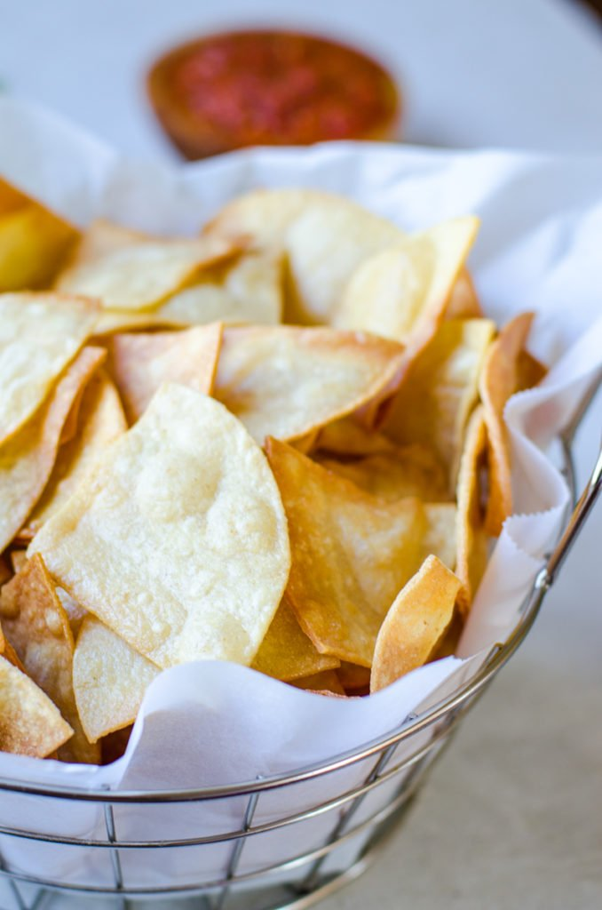How To Make Homemade Tortilla Chips Food Above Gold